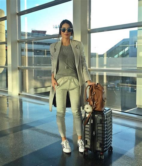 Womenu0026#39;s airport outfits style ideas (12) - Outfit for Girls Womens u0026 Mens  Outfit for Girls ...