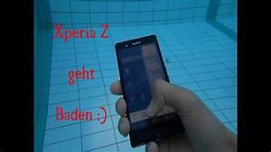 Sony Smartphone Wasserdicht : sony xperia z wasserdicht test youtube ~ A.2002-acura-tl-radio.info Haus und Dekorationen