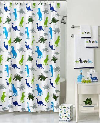 Macys Dining Room Table by Kassatex Bath Accessories Dino Park Shower Curtain