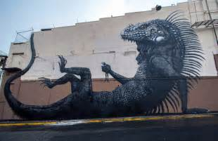 roa new mural in san juan puerto rico streetartnews