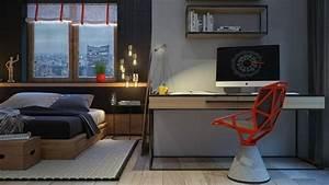 Chambre design 8 exemples de jolie chambre adulte for Bureau pour chambre adulte