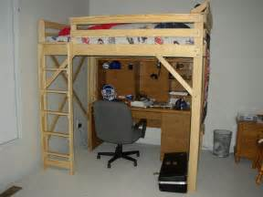 size loft bed plans pdf woodwork loft bed plans size diy plans