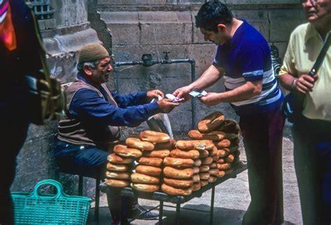 Free Vintage Stock Photo of Buying Bread - VSP