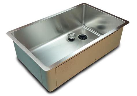 Single Basin Kitchen Sink Offset Drain