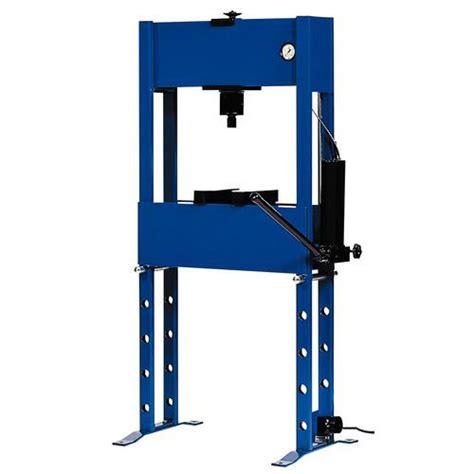 bureau d 騁ude hydraulique presse hydraulique standard 16 et 20 tonnes manutan fr