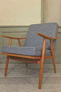 Fauteuil Vintage Scandinave : slavia vintage mobilier vintage fauteuil ton de style ~ Dode.kayakingforconservation.com Idées de Décoration
