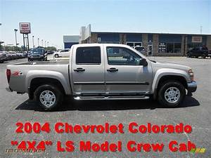 2004 Chevrolet Colorado Ls Crew Cab 4x4 In Silver Birch