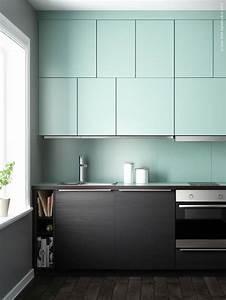 Ikea Facade Cuisine : cuisine ikea facade vert menthe ~ Preciouscoupons.com Idées de Décoration