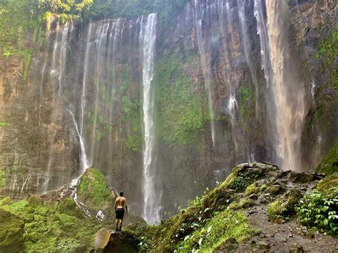 tumpak sewu waterfall      east