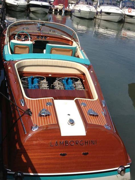 Lamborghini Boat Wood by Riva With Lamborghini Motoro Rivaboats