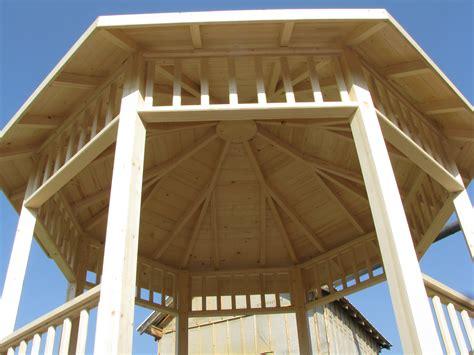 pergola octogonal 3m x 3m en bois en kit sans permis de construire