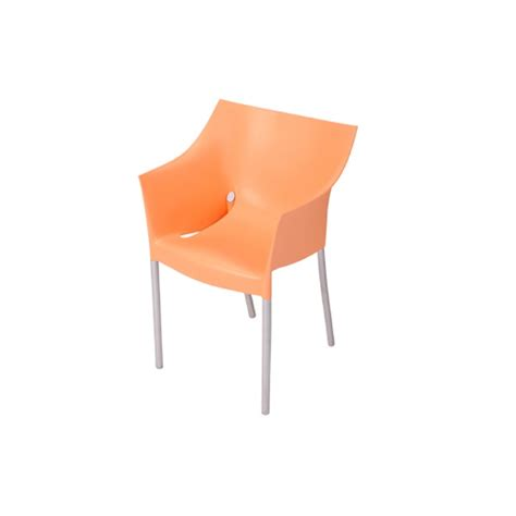 dr no chair orange formdecor