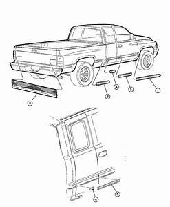 2001 Dodge Ram 2500 Applique  Tailgate  Appliquedual