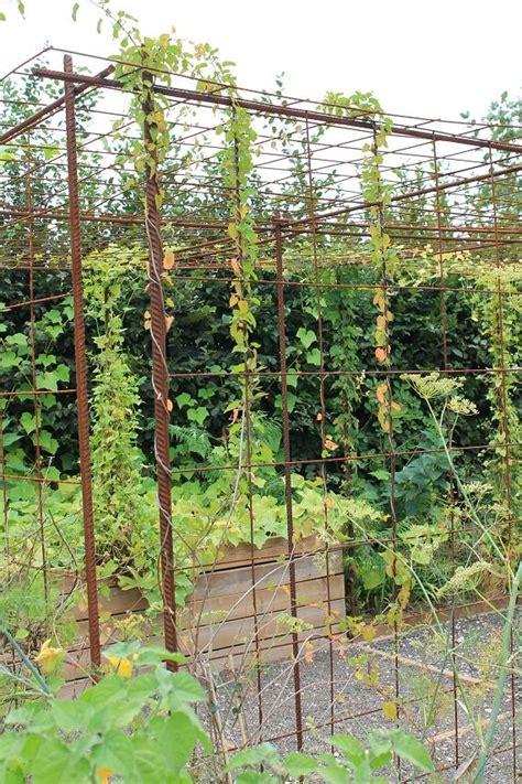 s am 233 nager un espace pour plantes grimpantes avec du fer 224 b 233 ton et treillis soud 233 passeur de
