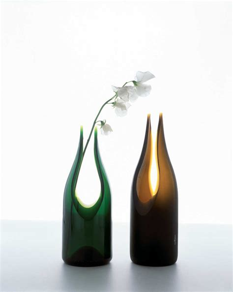 Unique Glass Vases by Unique Recycled Glass Vases By Artecnica