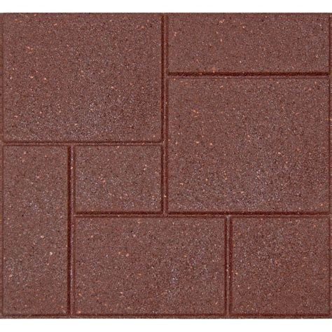 envirotile flat profile 24 in x 24 in earth paver 2