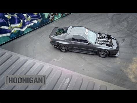 hoonigan mustang twin turbo hoonigan dt 052 1000hp minivan burnout bisimoto