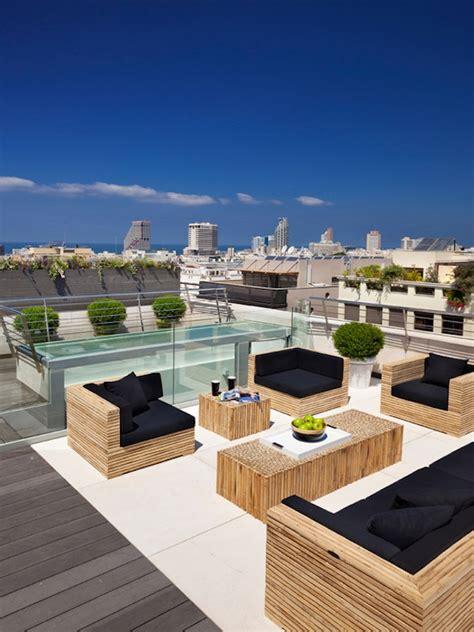 Terrassen Ideen Gestaltung by 75 Inspiring Rooftop Terrace Design Ideas Digsdigs