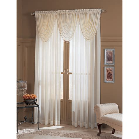 claire sheer window panel style your windows with sears