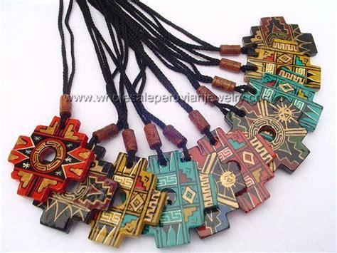 Andean Chakana Cross, Ceramic Necklaceshttp://www