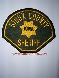 Mike Snook's Police Patch Collection - State of Iowa