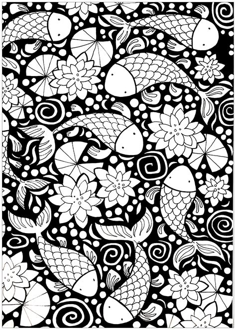 Coloring Background background coloring pages for adults