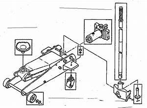 Blackhawk Floor Jack Parts Diagram