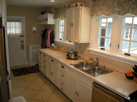 galley kitchen renovation kitchen remodel what would you do heartwork organizing 1174