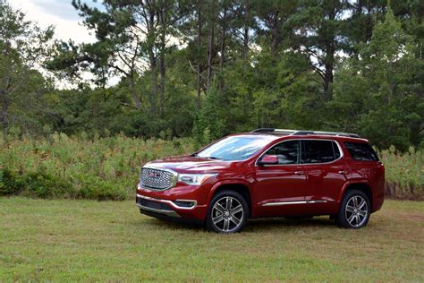 bold  luxurious  gmc acadia denali test drive review