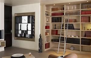 Aménagement Bibliothèque : am nagement biblioth que ~ Carolinahurricanesstore.com Idées de Décoration