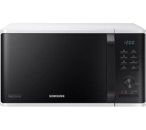Buy SAMSUNG MW3500K Solo Microwave   White & Black   Free