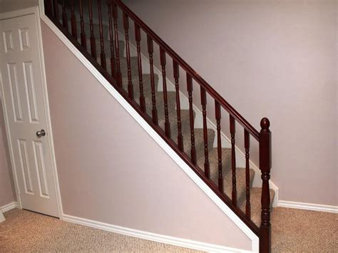 Finishing Basement Stairs Ideas by Basement Stairs With Various Railing Styles Silo
