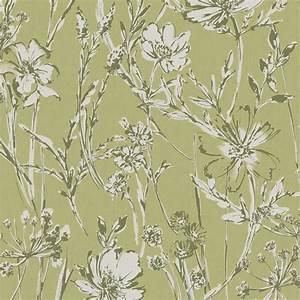 Wilko Wallpaper Green Botanical Shadow at wilko.com