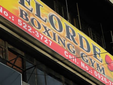 Dlsu Survival Guide Shops & Services Elorde Boxing Gym