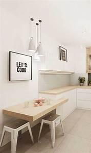 Küchentisch Kleine Küche : ber 50 elegante designideen mit einem kleinen k chentisch in 2020 k che tisch kleiner ~ Watch28wear.com Haus und Dekorationen