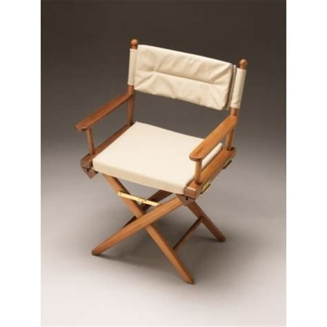 cheap ultra marine teak director s chair w padded