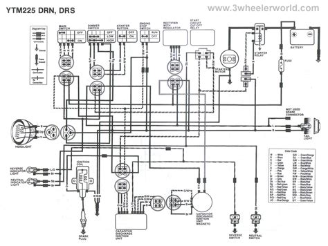 Yamaha Kodiak Wiring Diagram Auto Electrical