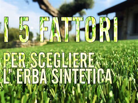 giardino erba prato sintetico le 5 caratteristiche per sceglierlo