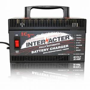 Interacter 48v Industrial Commercial Charger