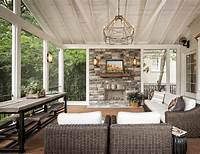 fine interior design ideas patio New Interior Best of Screened In Porch With Fireplace ...