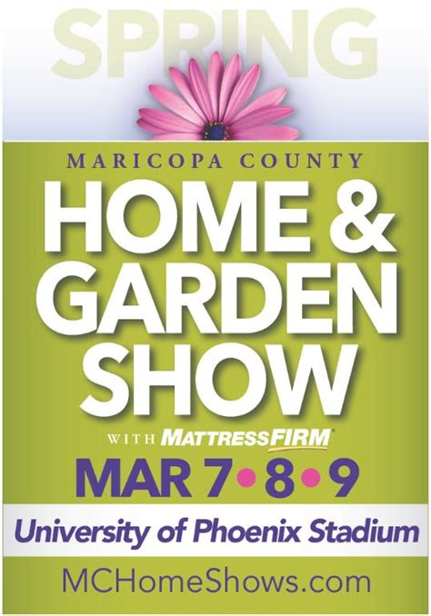 maricopa county home and garden show glendale az