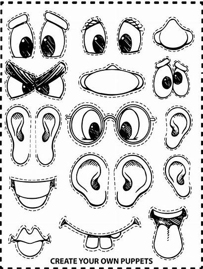 Coloring Own Pages Monster Create Preschool Face