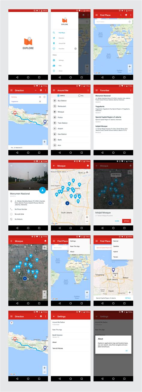 explore maps navigation app 1 0 by dream space codecanyon