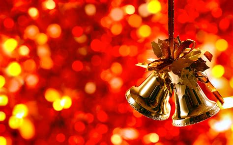 christmas bells full hd wallpaper  background