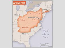 Afghanistan Geography 2017, CIA World Factbook