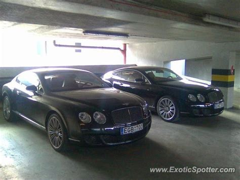 Bentley Continental Spotted In Vilnius, Lithuania On 10/23