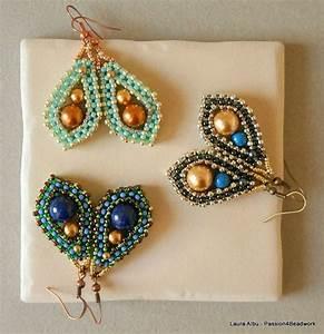 Best 25+ Beaded earrings patterns ideas on Pinterest ...