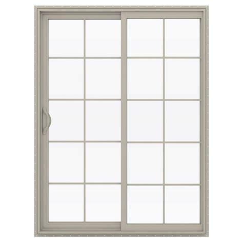 Menards Patio Door Rollers by Stanley Doors 60 In X 80 In Sliding Patio Door