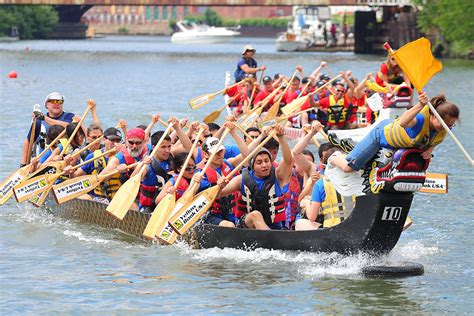 Dragon Boat Racing Gloucester by Fired Up Pyro Paddlers Make A Splash At Dragon Boat Races