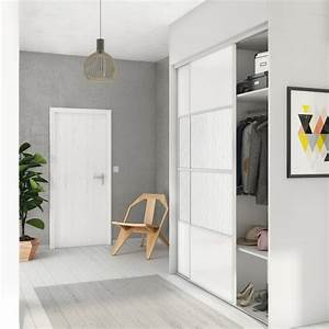Porte Coulissante Placard : porte de placard coulissante composer spaceo peindre goug leroy merlin ~ Medecine-chirurgie-esthetiques.com Avis de Voitures